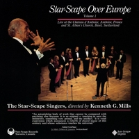 The Star-Scape Singers | Star-Scape Over Europe, Vol. 1