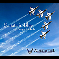 The United States Air Force Academy Band Rampart Winds | Sonata in Blue