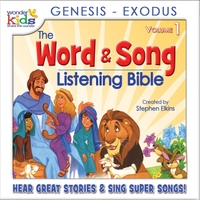 The Wonder Kids | The Word and Song Listening Bible: Genesis - Exodus
