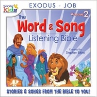 The Wonder Kids | The Word and Song Listening Bible: Exodus - Job