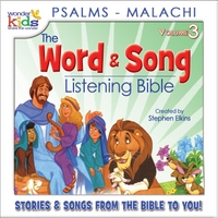 The Wonder Kids | The Word and Song Listening Bible: Psalms - Malachi