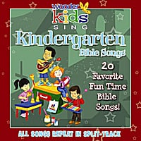 The Wonder Kids | Kindergarten Bible Song Favorites