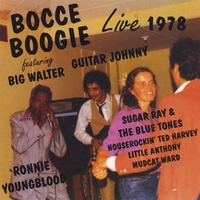 "Big Walter Horton, Ronnie ""Youngblood"" Earl, ""Guitar Johnny"" Nicholas, Sugar Ray 