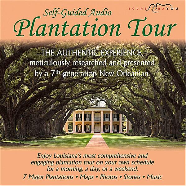 Plantation Tour New Orleans Map