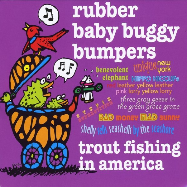 Trout fishing in america rubber baby buggy bumpers cd for Trout fishing in america