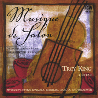 Troy King, guitar | Musique de Salon
