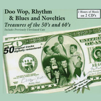 Various Artists | Doo Wop Rhythm & Blues and Novelties (Treasures of the 50's and 60's)
