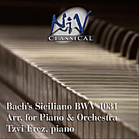 Tzvi Erez | Bach Siciliano from Flute Sonata No. 2 in E-Flat Major, BWV 1031