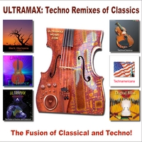 UltraMax | Techno Remixes of Classics, Trance with Violins, The Fusion of Classical and Techno!