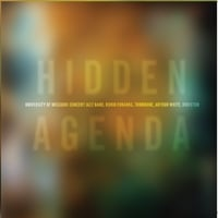 University of Missouri Concert Jazz Band | Hidden Agenda