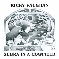 Ricky Vaughan | Zebra in a Cowfield