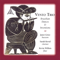 Vento Trio | Brazilian Dances and Inventions for Bassoon, Flute and Clarinet