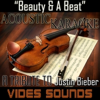 Vides Sounds | Beauty and a Beat  (Acoustic Karaoke Version)