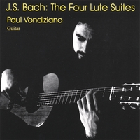Paul Vondiziano | J.S.Bach: The Four Lute Suites