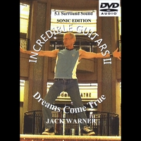 Jack Warner | Incredible Guitars II-Dreams Come True-Sonic-5.1 DVD-Audio