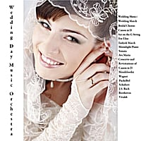 Wedding Day Music Orchestra | Mendelssohn, Wagner, Pachelbel, Schubert, J.S. Bach, Beethoven & Vivaldi: Wedding Music: Wedding March, Bridal Chorus, Canon in D, Air on the G String, For Elise, Turkish March, Moonlight Piano Sonata, Ave Maria, Concerto and Revisitations of Canon in D