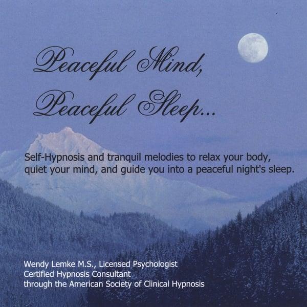 Wendy Lemke | Peaceful Mind, Peaceful Sleep | CD Baby Music Store