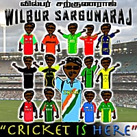 Wilbur Sargunaraj | Cricket Is Here