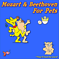 Windy Town Artists | Mozart & Beethoven for Pets