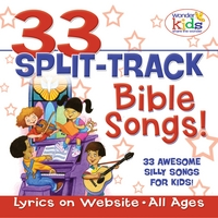 The Wonder Kids | 33 Split-Track Bible Songs