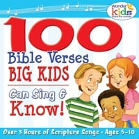 The Wonder Kids | 100 Bible Verses Big Kids Can Sing & Know