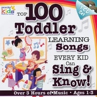 The Wonder Kids | 100 Toddler Learning Songs
