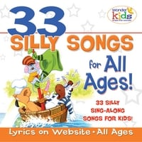 The Wonder Kids | 33 Silly Songs for All Ages