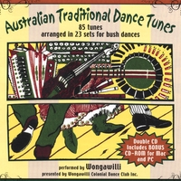 Wongawilli | Australian Traditional Dance Tunes, 2 CDs including CD Rom