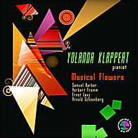 Yolanda Klappert | Samuel Barber: Excursions for Piano, Op. 20.  Herbert Fromm: Sonata for Piano Based Upon a Sephardic Theme - Fantasy for Piano.  Ernst Levy: Sonata #5 for Piano.  Arnold  Scoenberg:  Three Pieces for Piano, Op 11.  Musical Flowers.