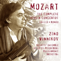 Zino Vinnikov & Soloists' Ensemble of the St. Petersburg Philharmonic Orchestra | Mozart: The Complete Violin Concertos