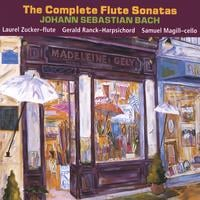 Laurel Zucker and Gerald Ranck | The Complete J.S. Bach Flute Sonatas (2 CD set)